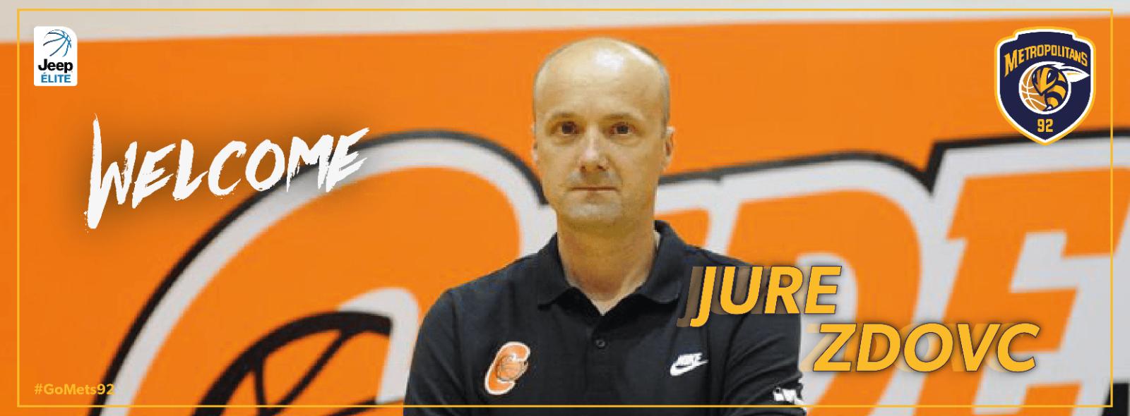 Jurij Zdovc, nouvel entraîneur des Metropolitans 92 !